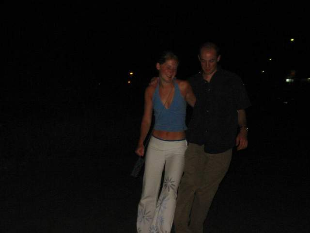 Reuben and Sues a little drunk?